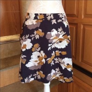 Old Navy Floral Skater Skirt
